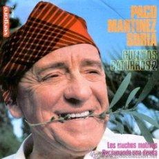Discos de vinilo: PACO MARTÍNEZ SORIA - CUENTOS BATURROS - EP, 1967. Lote 20526710