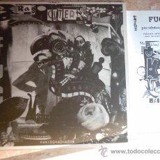 Discos de vinilo: LP- RAG CUTTER - S/T -LP MAKIN' FUC -1999-. Lote 26929758