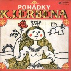 Discos de vinilo: POHÁDKY K.J. ERBENA - ESTUCHE CON 3 SINGLES A 33 R.P.M. - EDITADO EN CHECOSLOVAQUIA, 1973. Lote 23703955