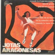 Discos de vinilo: CASA DE ARAGON DE MADRID CON RONDALLA,JOTAS ARAGONESAS DEL 68. Lote 20554126