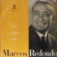 Discos de vinilo: MARCOS REDONDO - LP, 1959. Lote 27272787