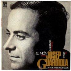 Discos de vinilo: JOSEP GUARDIOLA - EL MÓN – EP SPAIN 1965 – CONCÈNTRIC 6019 XC. Lote 20576001