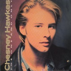 Discos de vinilo: CHESNEY HAWKES - THE ONE AND ONLY - MAXISINGLE 1991 - MUY BIEN CONSERVADO. Lote 20579053