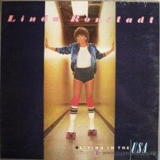 Discos de vinilo: LINDA RONSTADT / LIVING IN THE USA . Lote 20674073
