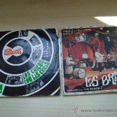 Discos de vinilo: DOS ESPECTACULARES VINILOS DE LOS BRAVOS -LOS CHICOS CON LAS CHICAS- BRING A LITTLE LOVIN-. Lote 26296529
