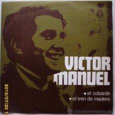 Discos de vinilo: VICTOR MANUEL. Lote 23529946