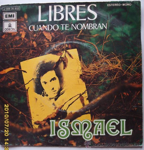 ISMAEL (Música - Discos - Singles Vinilo - Country y Folk)