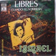 Discos de vinilo: ISMAEL. Lote 25410295