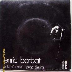 Discos de vinilo: ENRIC BARBAT - 1972. Lote 27173585