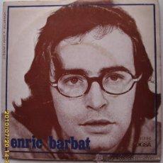 Discos de vinilo: ENRIC BARBAT - 1970. Lote 27173587