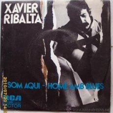 Discos de vinilo: XAVIER RIBALTA. Lote 27478086