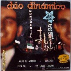 Discos de vinilo: DUO DINAMICO 1963. Lote 26439264