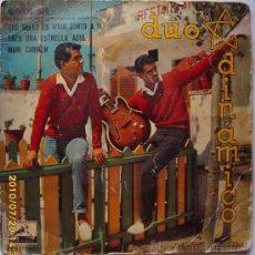 Discos de vinilo: DUO DINAMICO 1961. Lote 26439257