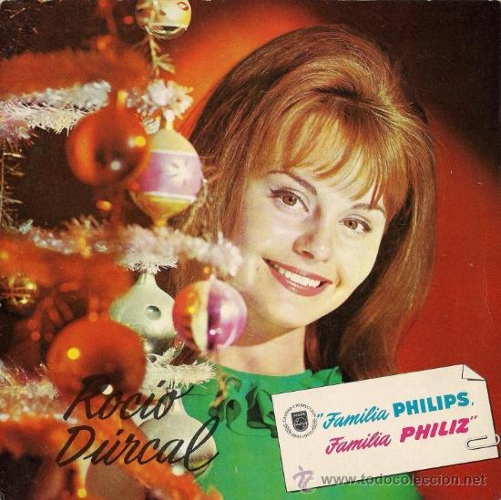 ROCÍO DÚRCAL - EP PUBLICITARIO PHILIPS - 1966 (Música - Discos de Vinilo - EPs - Solistas Españoles de los 50 y 60)