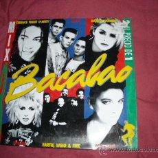 Discos de vinilo: BACALAO 3 DOBLE LP CBS VARIOS ARTISTAS. Lote 20626990