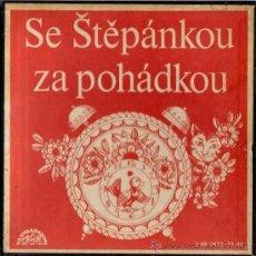 Discos de vinilo: SE STEPANKOU ZA POHADKOU - CAJA CON 4 SINGLES - EDITADO EN CHECOSLOVAQUIA, 1973. Lote 25038939