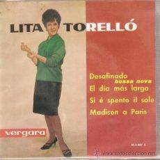 Discos de vinilo: EP LITA TORELLO - DESAFINANDO . Lote 26235684