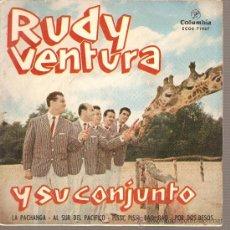 Discos de vinilo: EP RUDY VENTURA Y SU CONJUNTO - LA PACHANGA . Lote 26426096