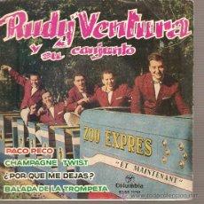 Discos de vinilo: EP RUDY VENTURA Y SU CONJUNTO - PACO PECO . Lote 26409025