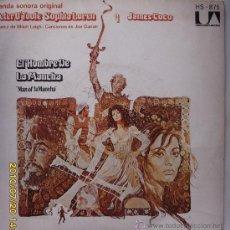 Discos de vinilo: EL HOMBRE DE LA MANCHA . Lote 25064184