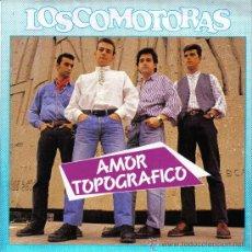 Discos de vinilo: LOSCOMOTORAS-AMOR TOPOGRAFICO + LUCILA SINGLE VINILO 1989 PROMOCIONAL SPAIN. Lote 20659300