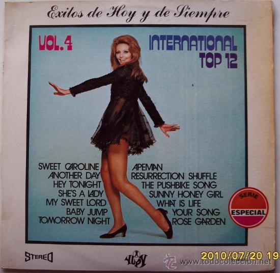 EXITOS DE HOY Y DE SIEMPRE  internacional top 12  vol 4- 1971