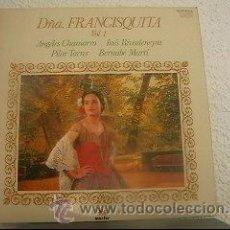Discos de vinilo: AMADEO VIVES - DOÑA FRANCISQUITA VOL. 1 - LP MARFER - M. 25-001 S - ESPAÑA 1979 - Z1. Lote 20660611