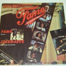 Discos de vinilo: DISCO SINGLE VINILO FAME-LOS CHICOS DE FAMA- BSO- RCA 1983. Lote 26398753