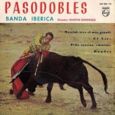 Discos de vinilo: PASODOBLES - EL VITO, DAUDER... - BANDA IBÉRICA - 1958. Lote 25893637