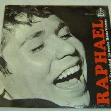 Discos de vinilo: DISCO SINGLE VINILO RAPHAEL-YO SOY AQUEL-HISPAVOX 1966. Lote 23896864