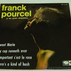 Discos de vinilo: DISCO SINGLE VINILO FRANK POURCEL Y SU GRAN ORQUESTA-SWEET MANIA- LA VOZ DE SU AMO - EMI 1967. Lote 25242415