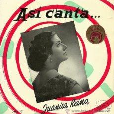 Discos de vinilo: JUANITA REINA EP SELLO LA VOZ DE SU AMO AÑO 1958. Lote 20675723