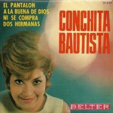 Discos de vinilo: CONCHITA BAUTISTA EP SELLO BELTER AÑO 1966. Lote 20675894