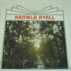 Discos de vinilo: DISCO LP VINILO RAMBLA AVALL - LA TRINCA / GUILLERMINA MOTTA- EDIGSA 1974. Lote 26941112