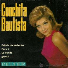 Discos de vinilo: CONCHITA BAUTISTA EP SELLO BELTER AÑO 1969. Lote 20675955