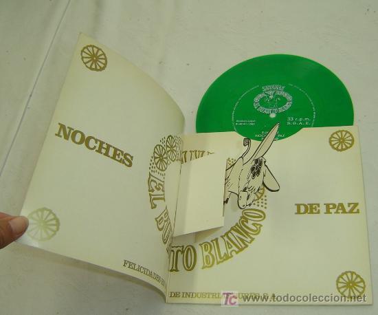 Discos de vinilo: DISCO SINGLE PLASTICO-FELICITACION NAVIDEÑA SABANAS BURRITO BLANCO-NOCHE DE PAZ- 1969 - MUY RARO - Foto 2 - 25759228