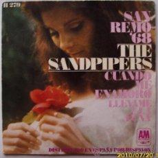 Discos de vinilo: THE SANDPIPERS SAN REMO 1968. Lote 25195246