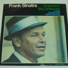 Discos de vinilo: DISCO SINGLE VINILO FRANK SINATRA-EXTRAÑOS EN LA NOCHE- REPRISE 1966. Lote 26674199