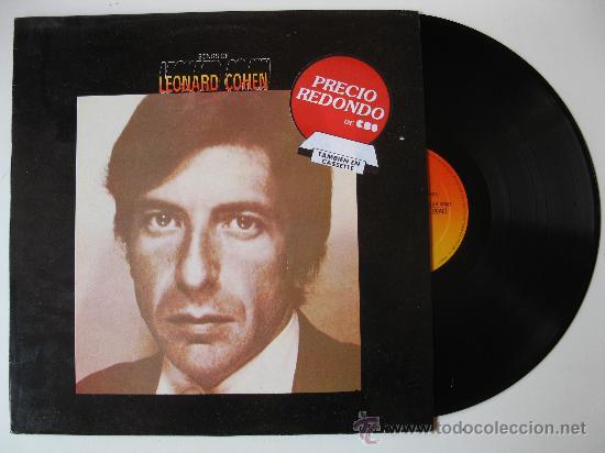 "LP - LEONARD COHEN - ""SONGS OF"". (Música - Discos - LP Vinilo - Cantautores Extranjeros)"