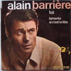 Discos de vinilo: ALAIN BARRIÈRE. Lote 25250287