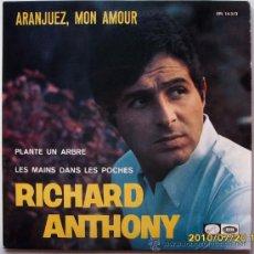 Discos de vinilo: RICHARD ANTHONY. Lote 27395418