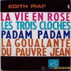 Discos de vinilo: EDITH PIAF. Lote 26663102