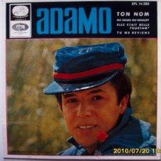 Discos de vinilo: ADAMO 1966. Lote 27536962