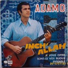 Discos de vinilo: ADAMO 1967. Lote 27536966