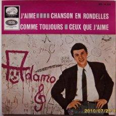 Discos de vinilo: ADAMO 1965. Lote 27536979