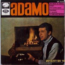 Discos de vinilo: ADAMO 1966. Lote 27536983