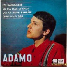 Discos de vinilo: ADAMO 1966. Lote 27536987