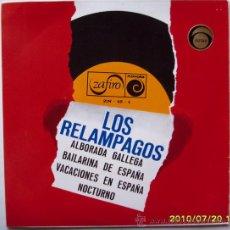 Discos de vinilo: LOS RELAMPAGOS - 1966. Lote 27486458