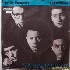 Discos de vinilo: LOS RELAMPAGOS. Lote 27486460