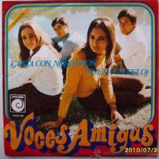 Discos de vinilo: VOCES AMIGAS. Lote 25383912